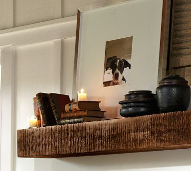 299 Above The Mantel Benchwright Shelf At Potterybarn Love
