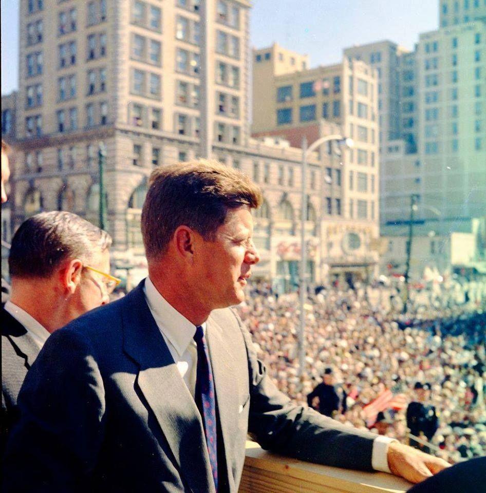 1960. Octobre Jfk in Dayton, Ohio