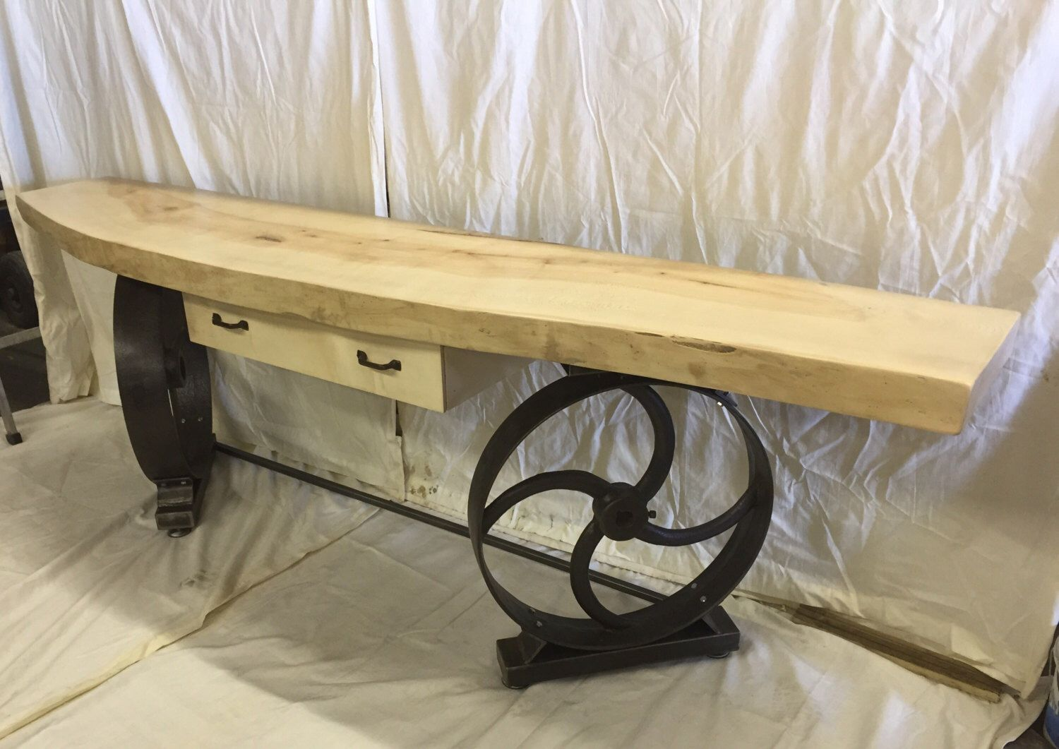 Industrial console table farmhouse hallway table side table industrial console table farmhouse hallway table side table restaurant hotel reception geotapseo Image collections