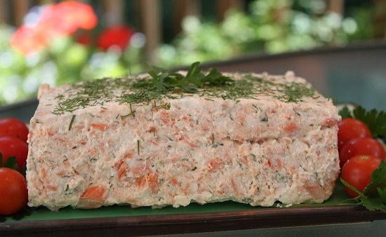 Recipe  For Salmon Mousse With Watercress Sauce