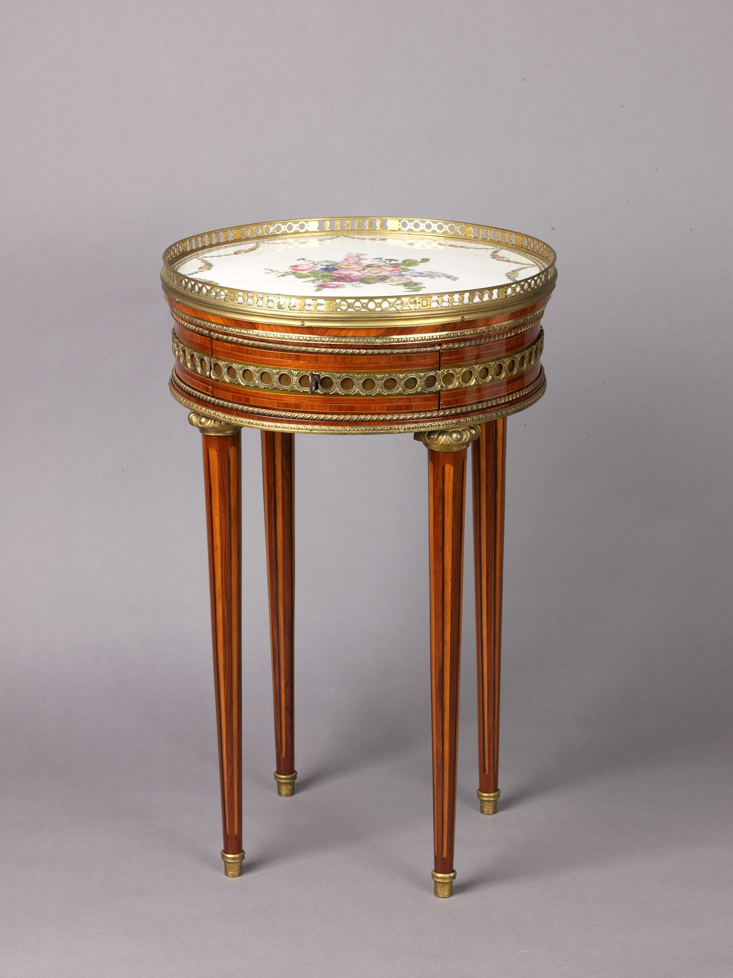 Louis XVI round table with sevres top | French, Paris | The ...