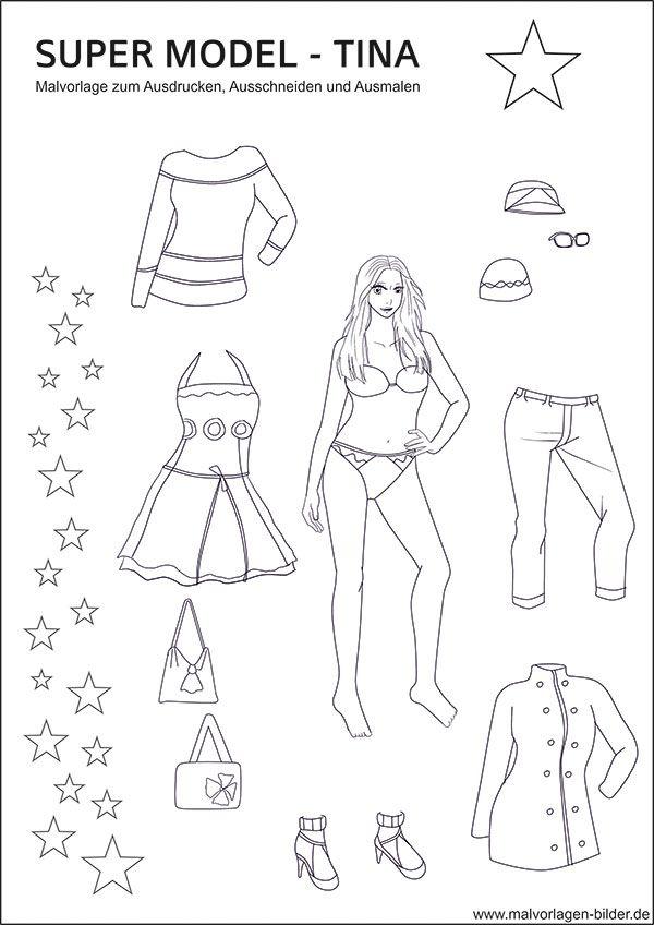 super model lisa und viele kleider als kostenlose