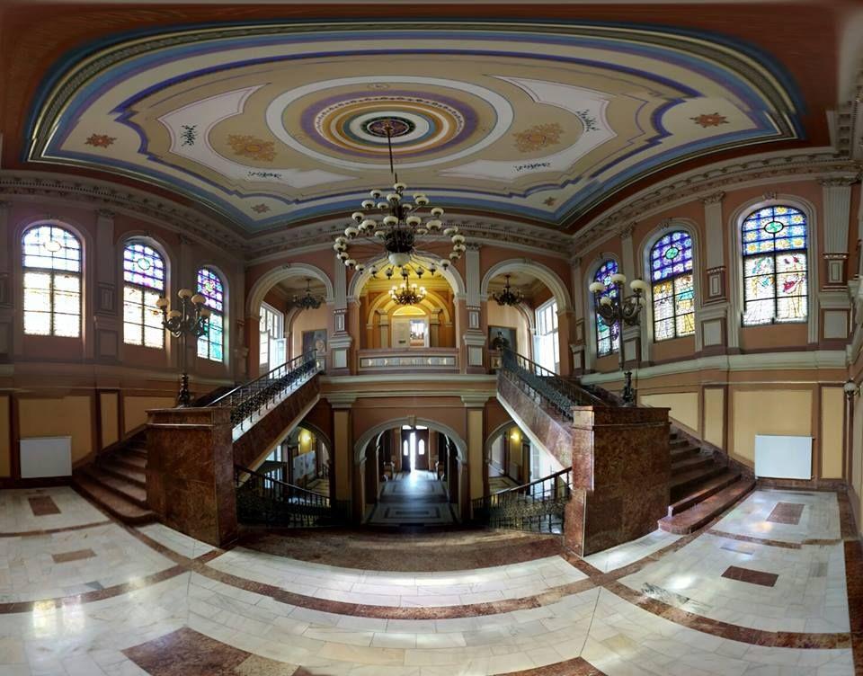Interior of the City Hall Arad