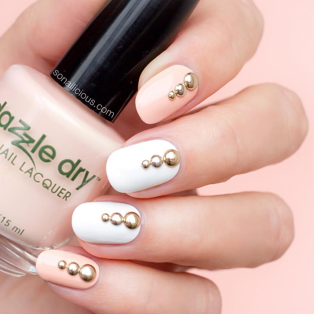 Dazzle Dry: A Toxin-Free Polish to Put on Your Radar | White nails ...