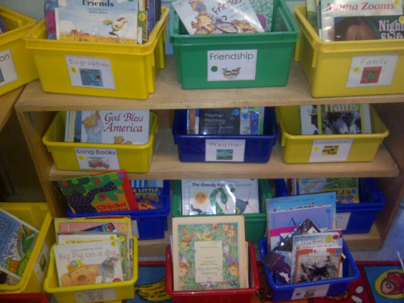 Tk Classroom Library 95th Street School In Lausd Reading