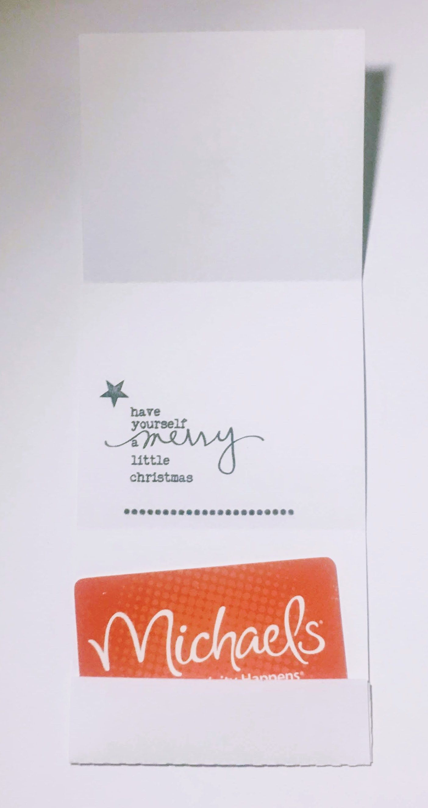 quick make paper gift card holder for christmas  mandy's