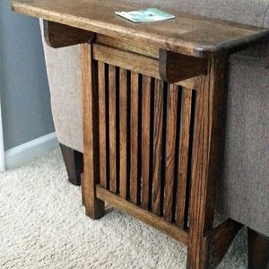 Space Saving End Table    By Glider, For Baby Time