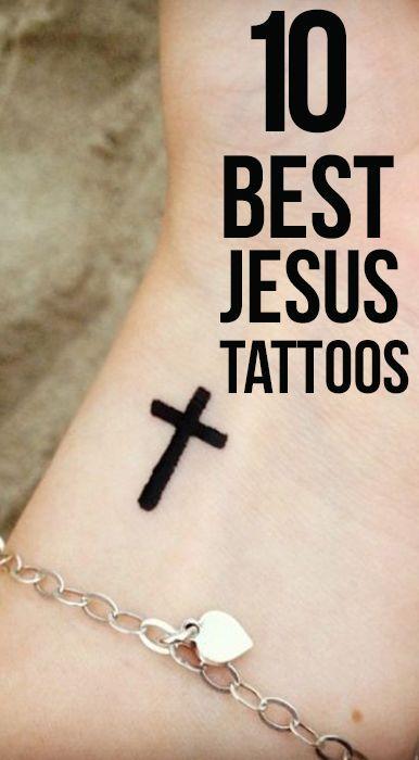10 Spiritual Jesus Tattoo Ideas Tatto Inspiration Pinterest