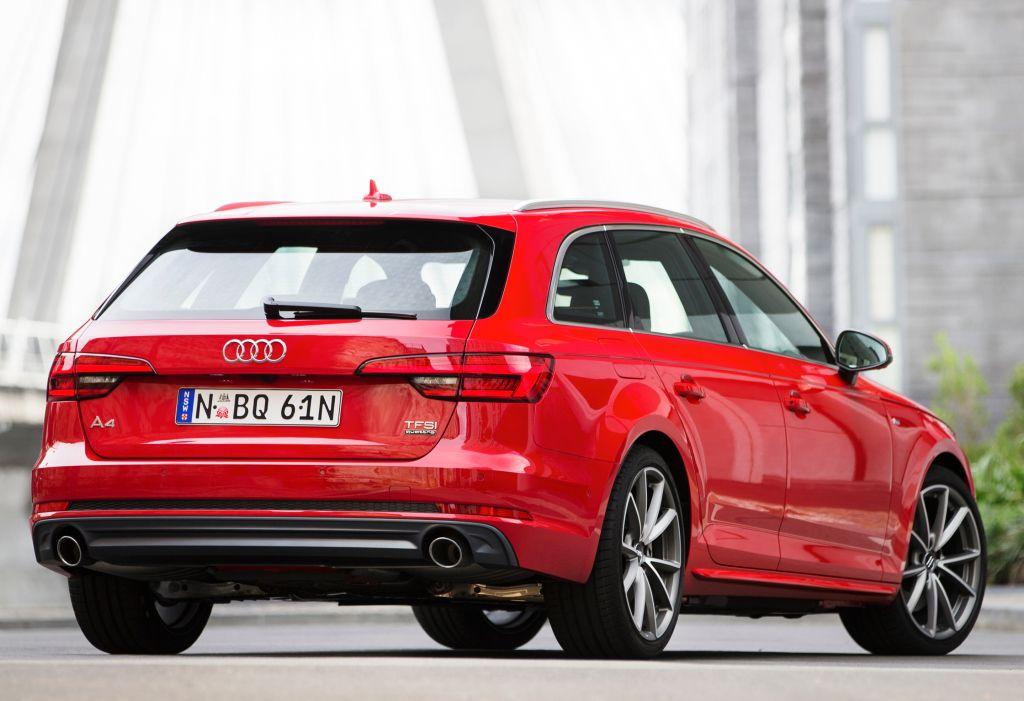 Audi A4 Avant 2 0 Tfsi Quattro S Line Au Spec B9 2016 Auto
