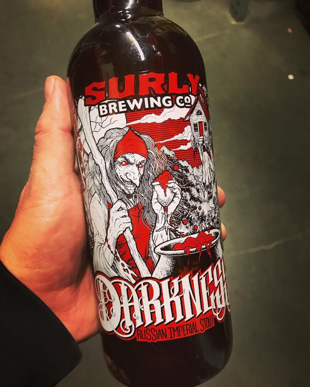 Surly Darkness is here Brewing co, Brewing, Beer