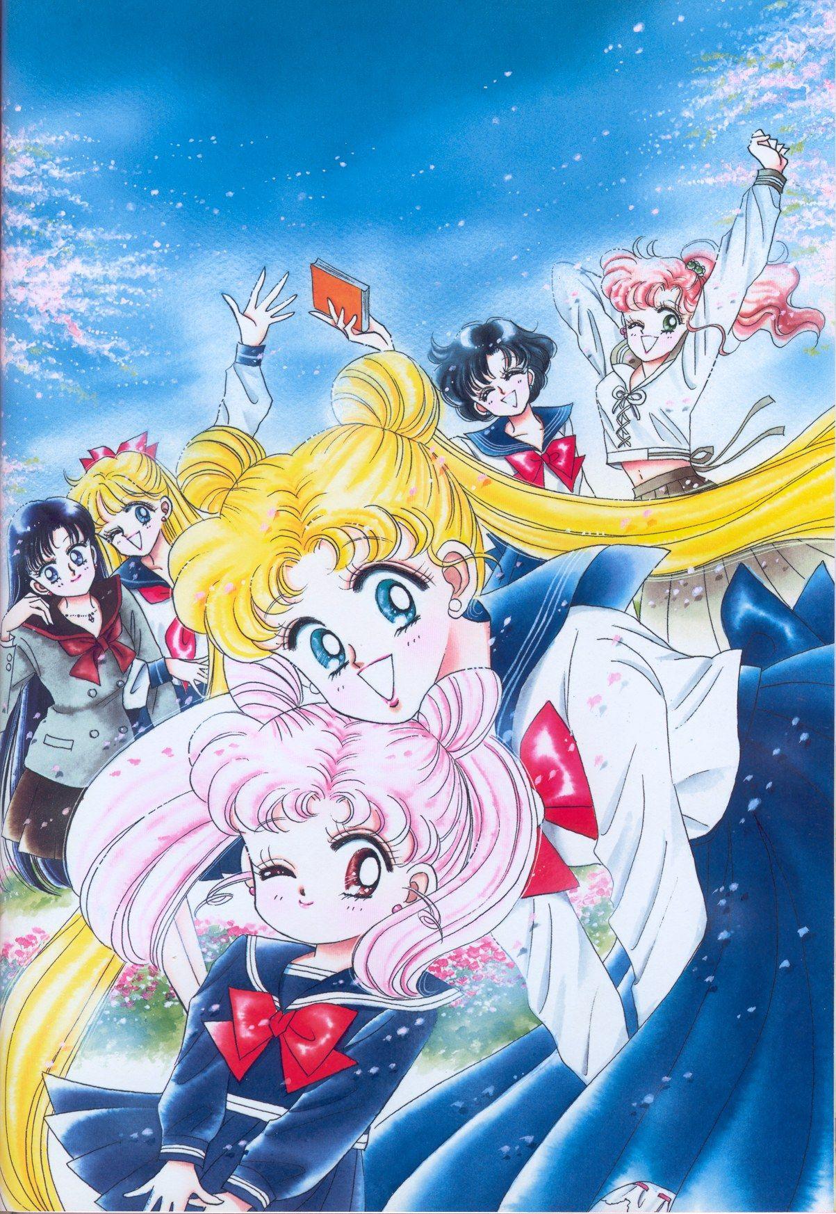 Inner Senshi セーラームーン イラスト 美少女戦士セーラームーン イラスト