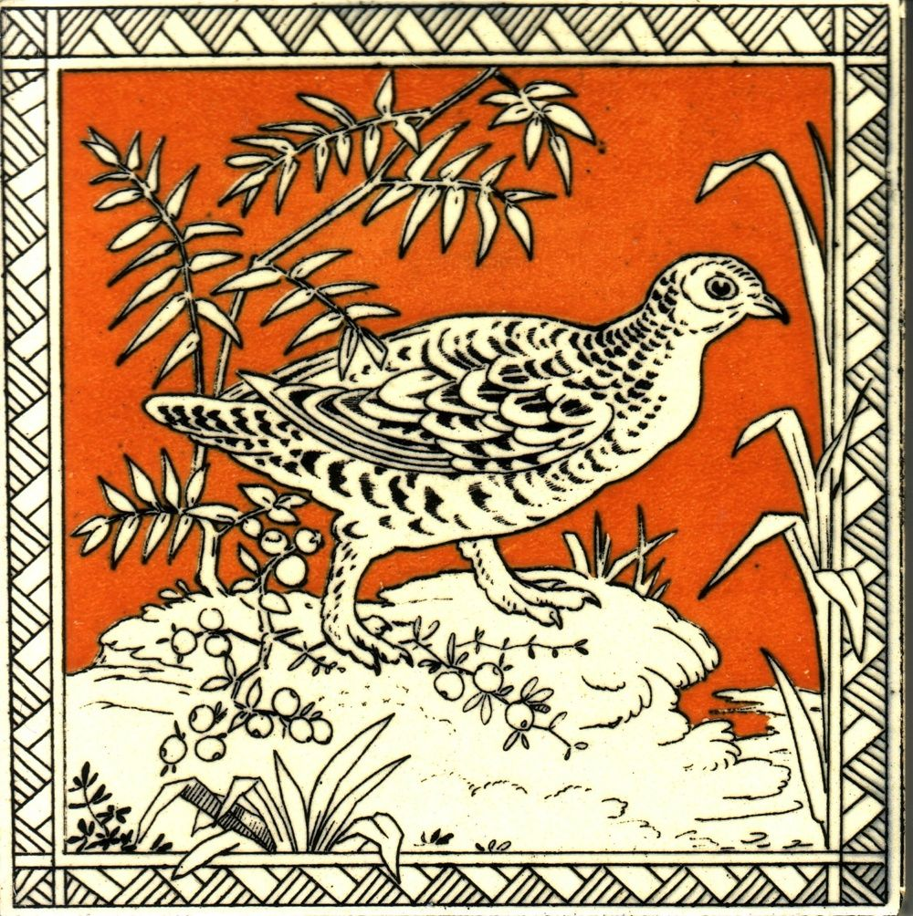 Birds series minton hollins co bird birds series minton hollins co the decorated tile wiki dailygadgetfo Gallery