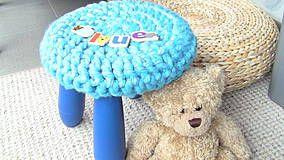 Textil - Svetrík na malú stoličku (: - 4401522_