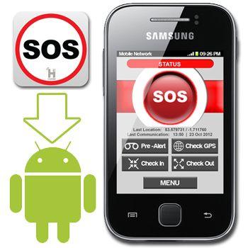 RoamApp The Android SOS & GPS Tracking App from Geonovo