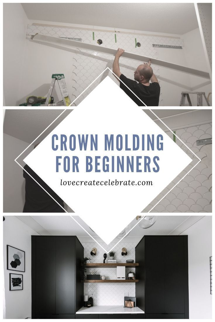 crown molding for beginners how to install over tile on simple effective and easy diy shelves decorations ideas the way of appearance of any space id=82986