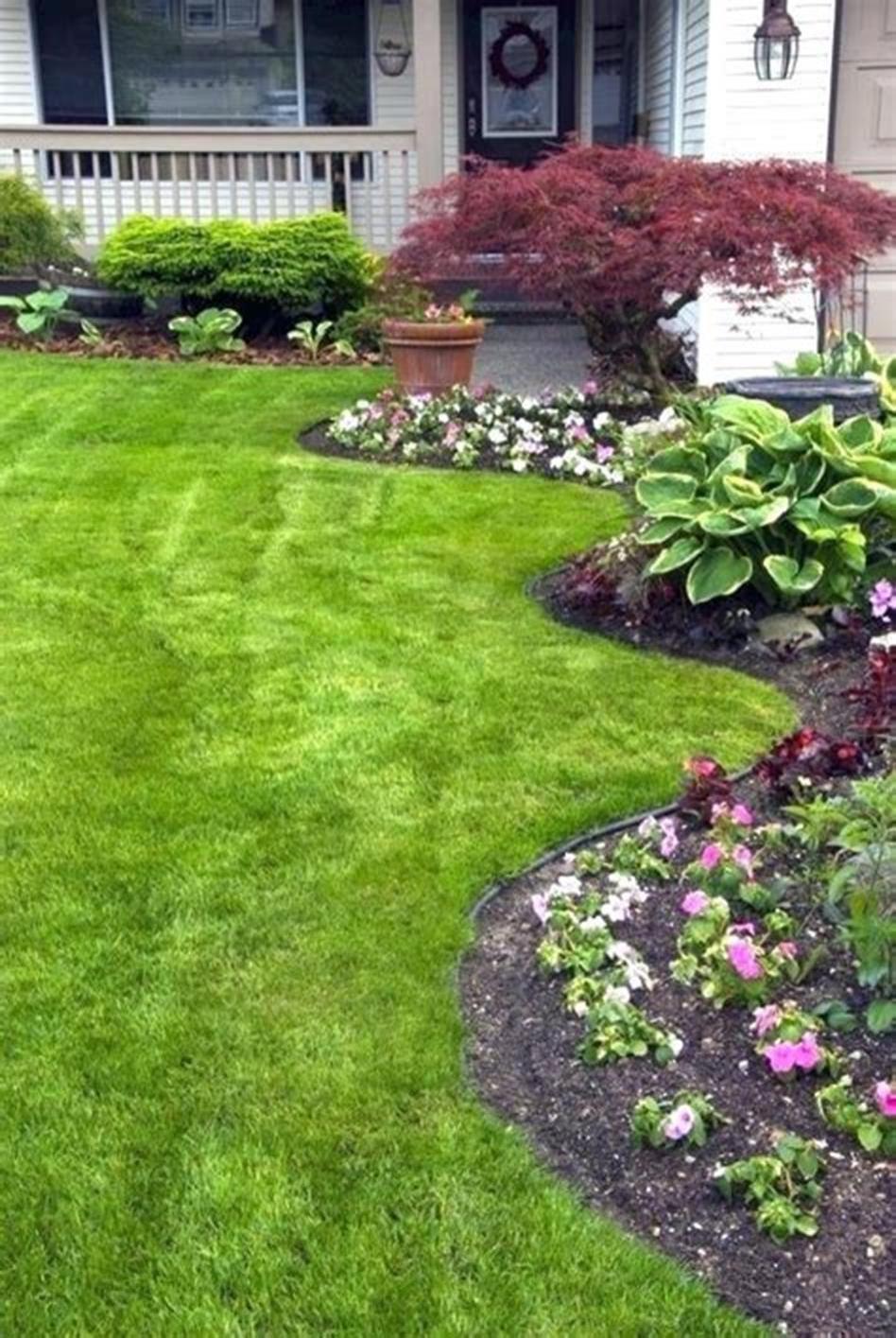 10 Best Front Yard Landscaping Ideas Low Maintenance | Diy ...