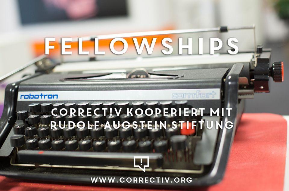 Fellowships for Data Journalist at CORRECT!V (Germany)