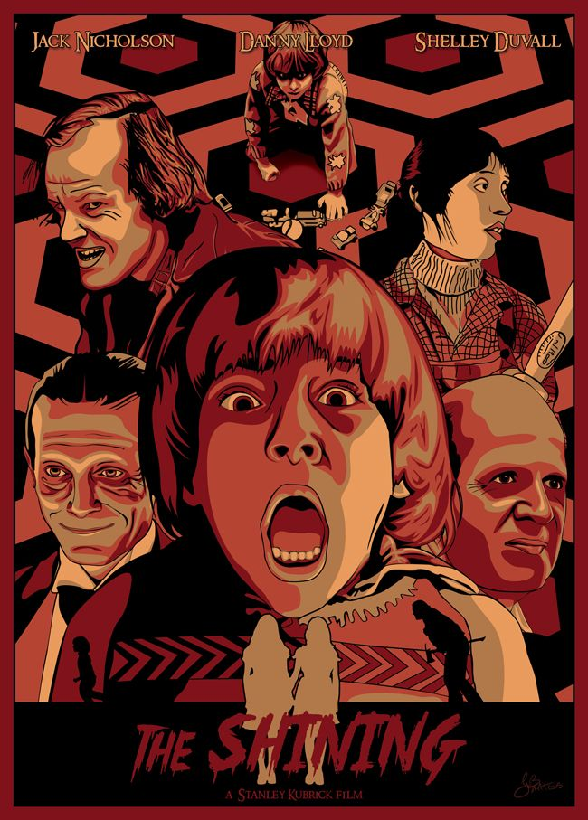 The Shining alternative poster by GBART3 Horror movie