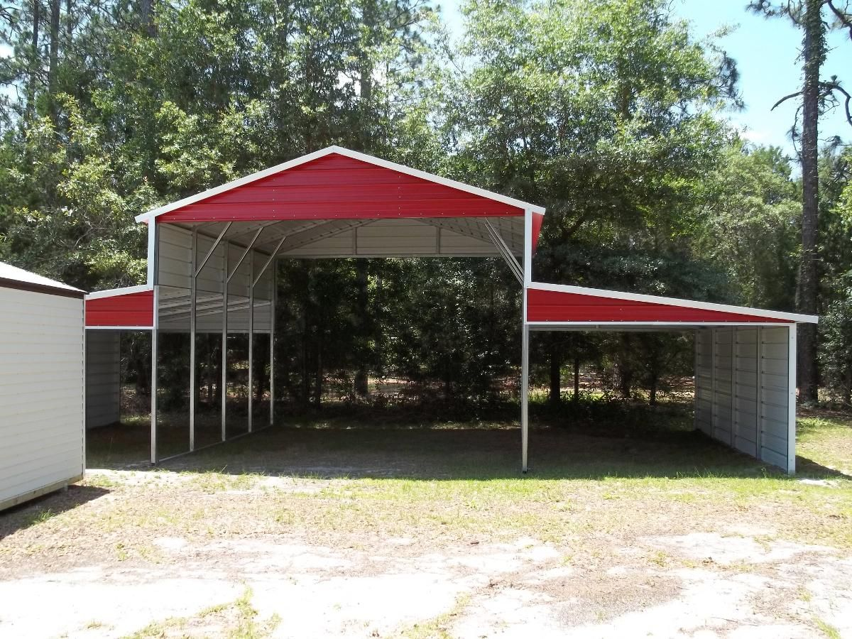 Carolina Carports Inc Shed Ranch Inc Archer Fl Portable Carport Carport Metal Carports