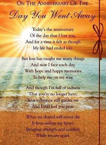 Anniversary Of When You Went Away Mother Pinterest Miss You