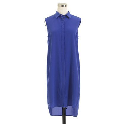 J.Crew - Petite silk sleeveless dress