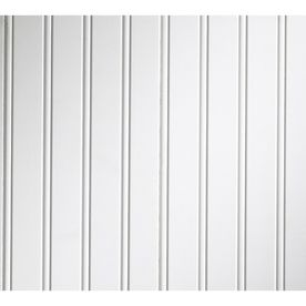 Evertrue 1 4 X 7 25 X 8 Primed White Mdf Beadboard Wall Panel
