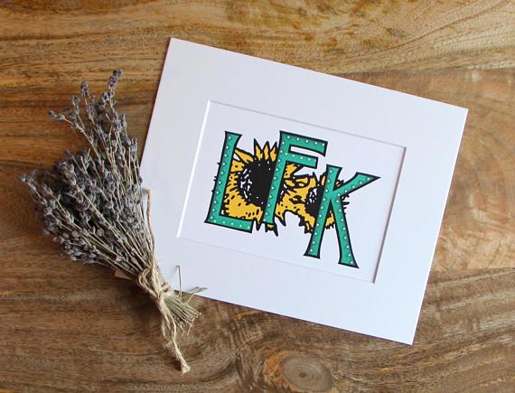Lfk print lawrence kansas sunflowers ku university of kansas lfk print lawrence kansas sunflowers ku university of kansas art print m4hsunfo