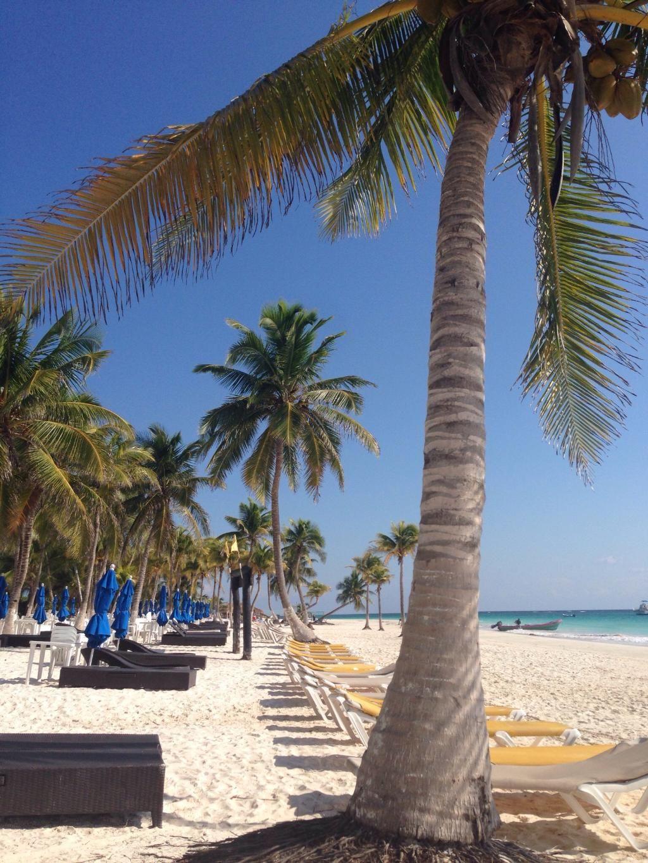 Playa Paraiso Beach Club Tulum Nice With Drinks Good Swimming