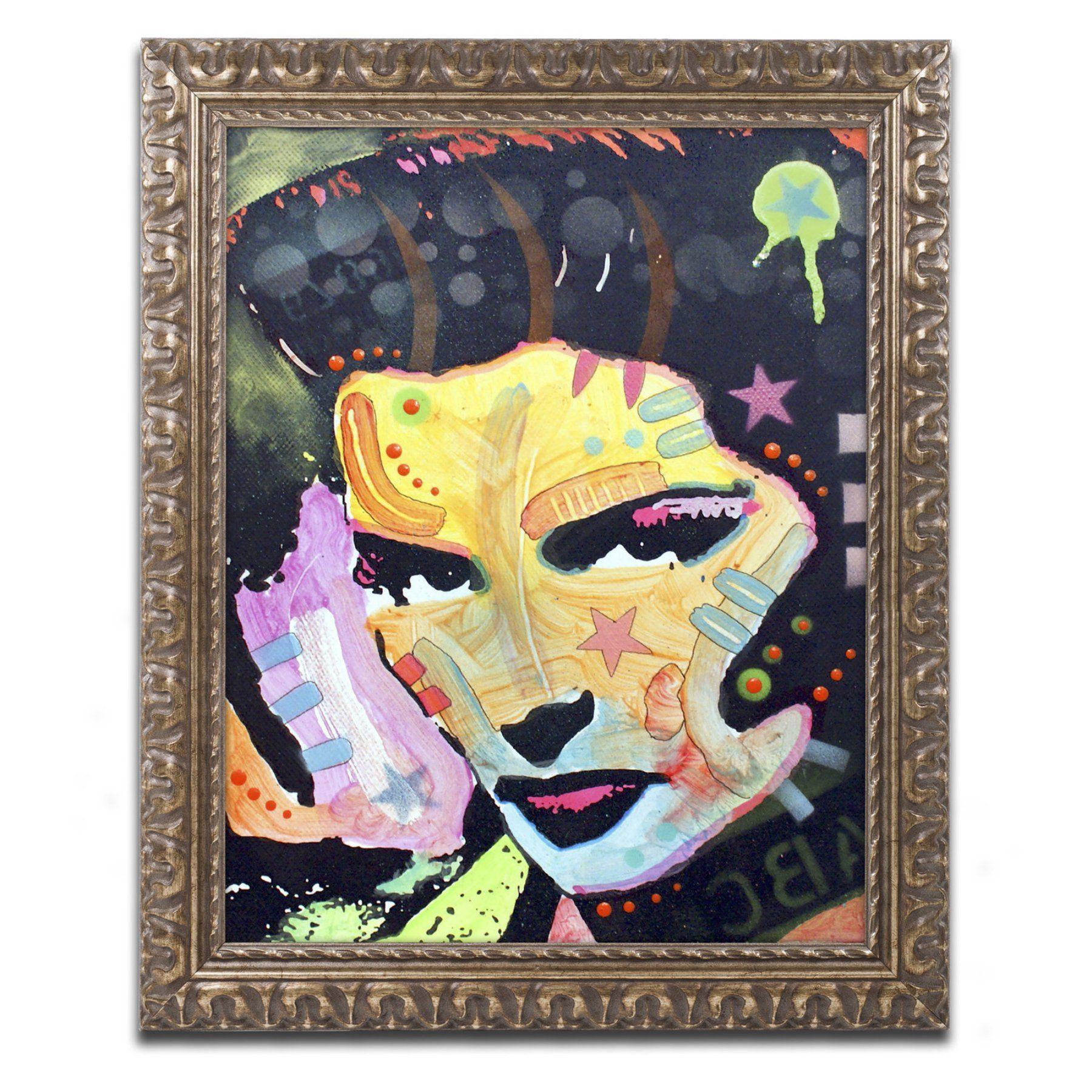 Trademark Fine Art Dean Russo Katherine Hepburn Framed Wall Art ...