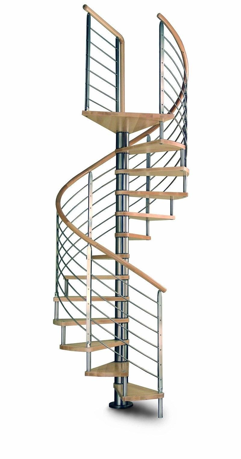 Best Apollo Spiral Staircase With Stainless Steel Balustrade In 400 x 300
