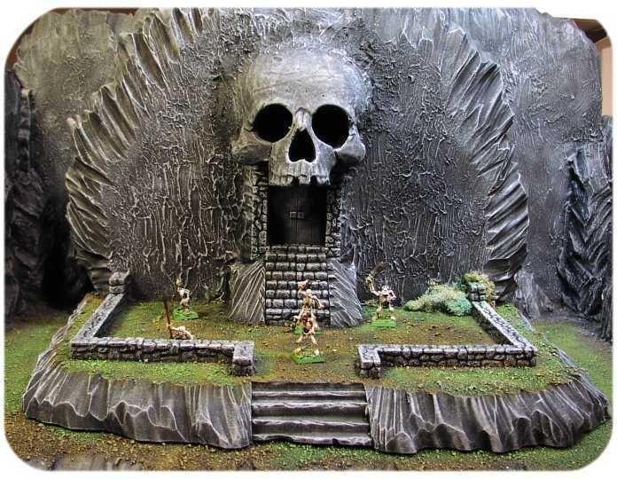skull entrance