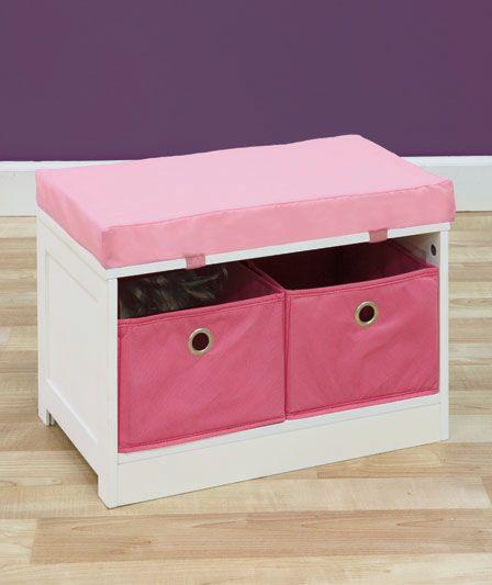 Kids Storage Bench Furniture Toy Box Bedroom Playroom: Kids' Storage Benches