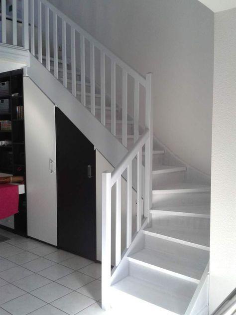 Peindre un escalier en bois Relooker meuble Pinterest