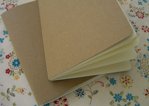 How to make your own moleskine like notebooks cereal journal diy stitched cereal box journals by the long thread ccuart Image collections