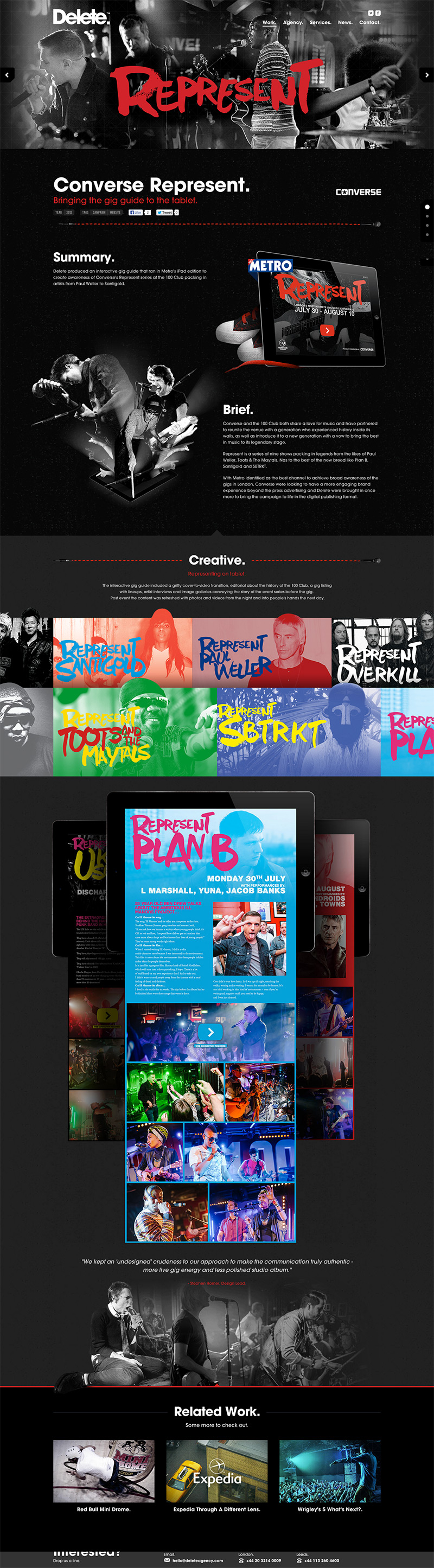Unique Web Design, Delete @MadeByEricaMade #WebDesign #Design (http://www.pinterest.com/aldenchong/)
