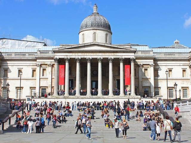 National Gallery -- It is the fifth most visited art museum in the world, after the Musée du Louvre, the Metropolitan Museum of Art, the British Museum and Tate Modern.