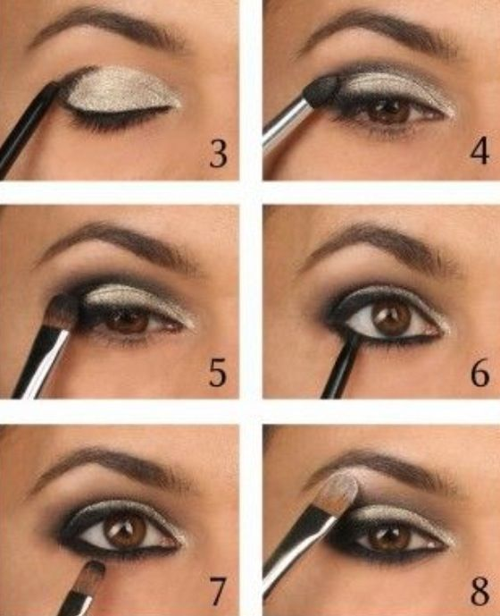 Eye Shadow Make Up Party Eye Makeup Eyeshadow Tutorial For