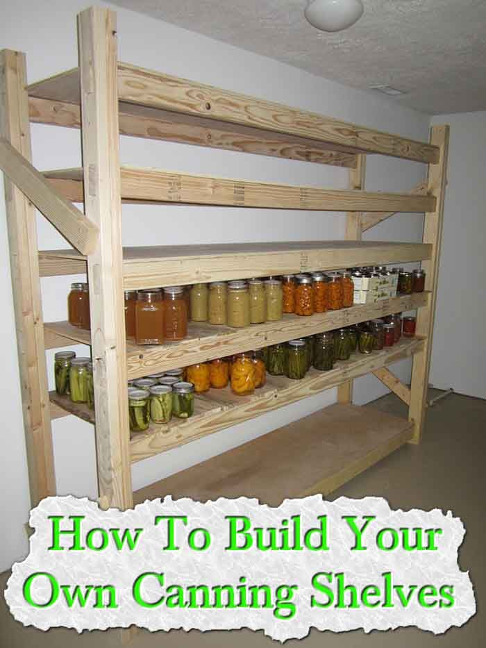 Adjustable Pantry Shelving Ideas