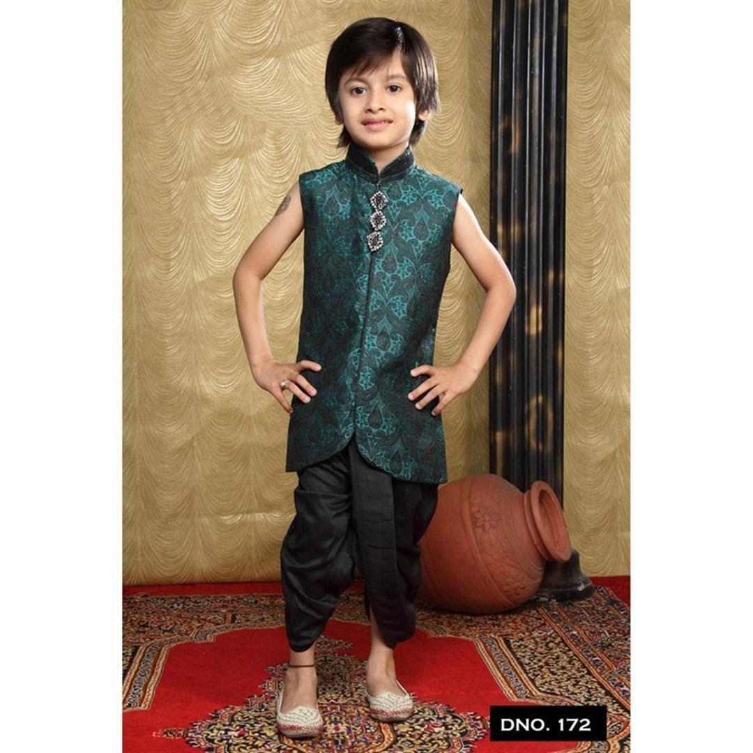 Designer Stylish Indian Kids Boys Wear Fashion Week