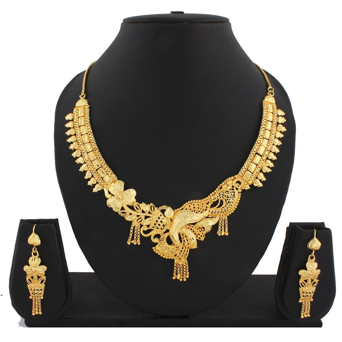 unique designer gold necklaces - Google Search | My Wedding ...