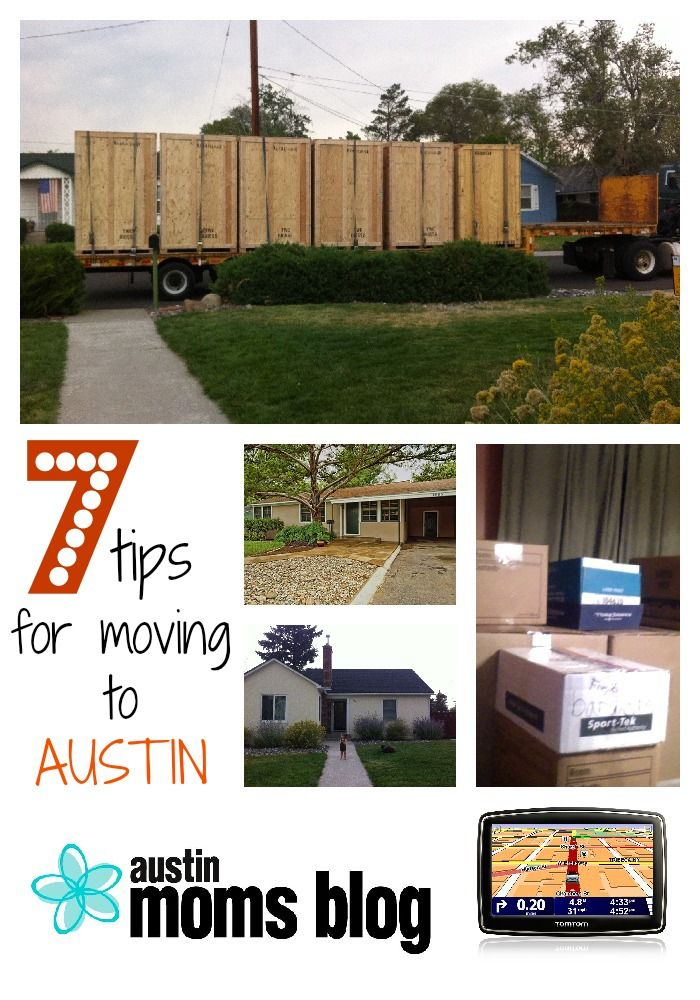 Moving to Austin? Tips for any move!