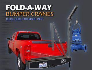 Fold A Way Bumper Cranes Truck Bumpers Truck Cranes Crane