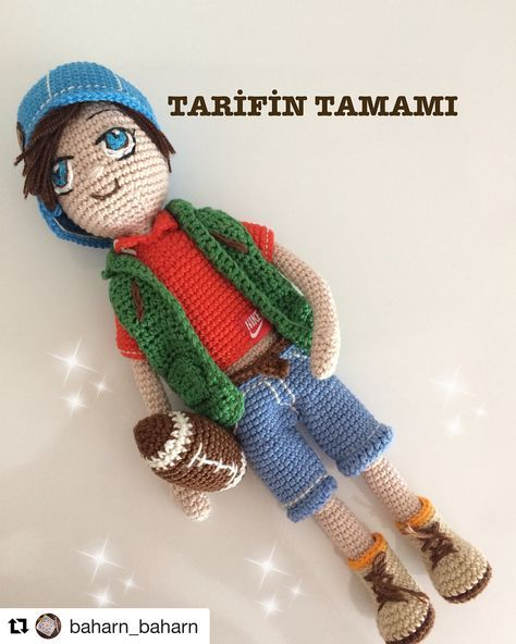"Photo of @amigurumi_tarifler_ on Instagram: ""Tarif: @baharn_baharn  …"