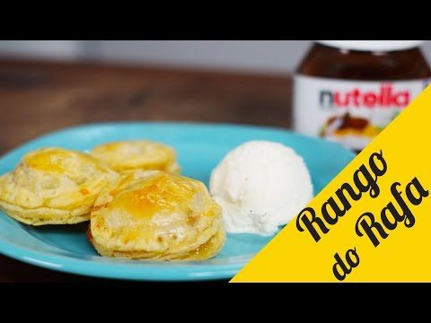 Moedas de Nutella e Banana - Rango do Rafa - YouTube