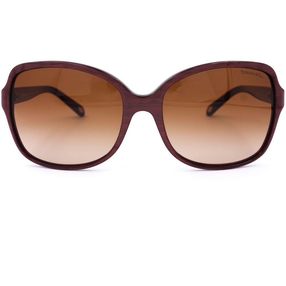 b9fdd00f64b Hearts Square Sunglasses with Brown Gradient Lenses TF 4085-H  TiffanyCo   Square