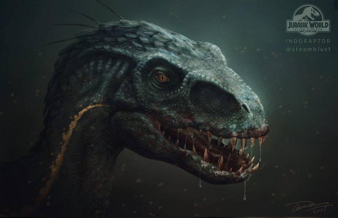 This Jurassic World Fallen Kingdom Indoraptor Fan Art Is Horrifyingly Awesome Jurassi Jurassic World Dinosaurs Jurassic World Jurassic World Fallen Kingdom