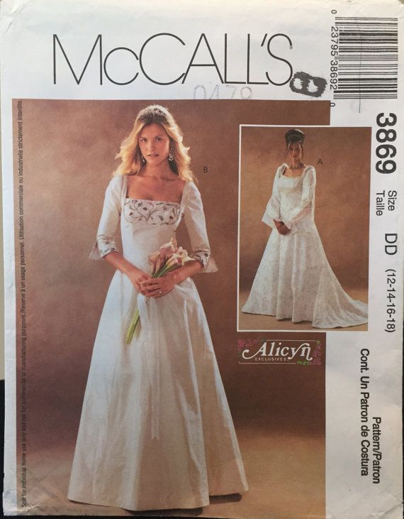 McCall's Alicyn Medieval Dress for Wedding Evening by