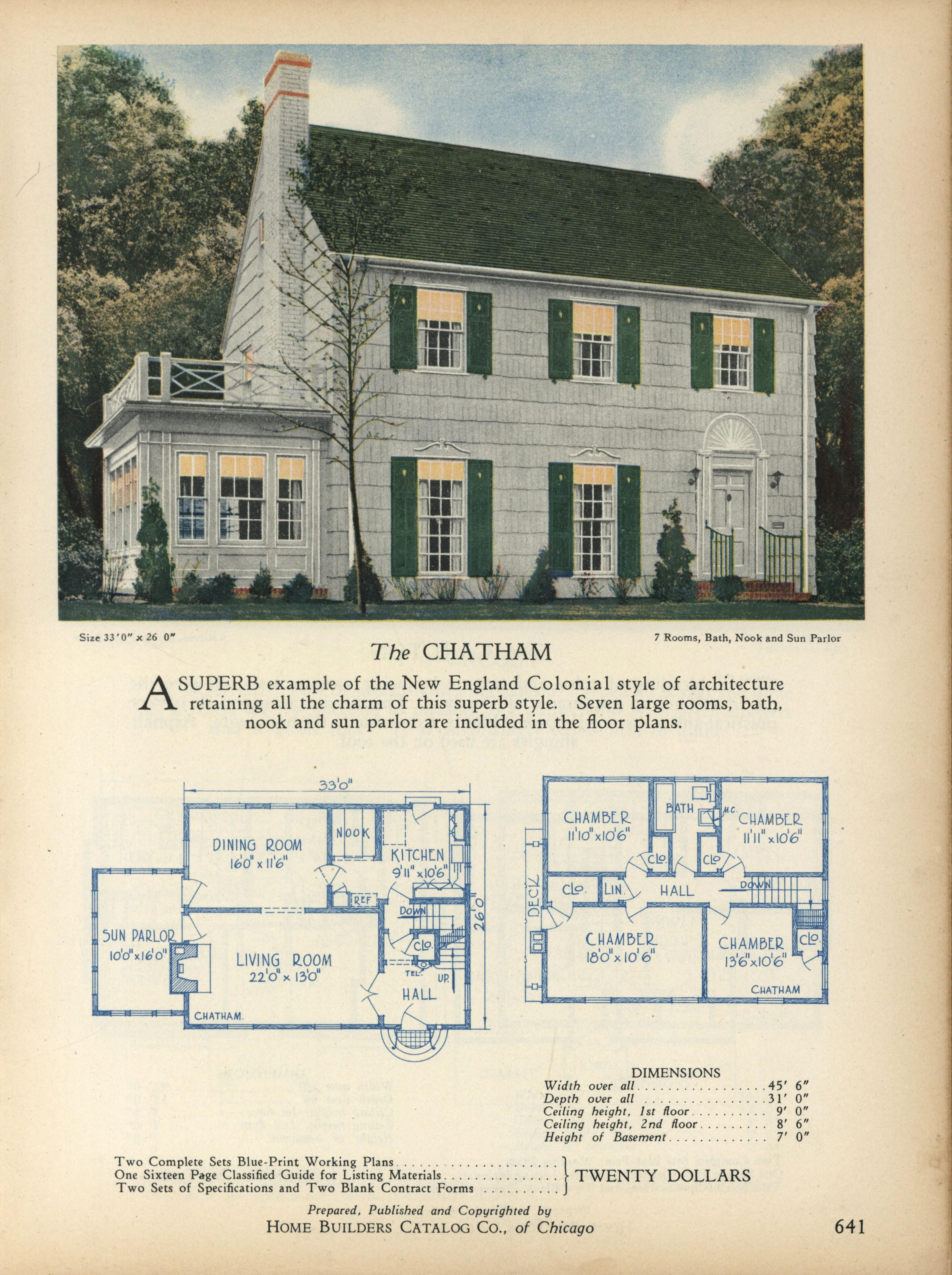 Home Builders Catalog Plans Of All Types Of Small Homes How To Plan Vintage House Plans Home Builders