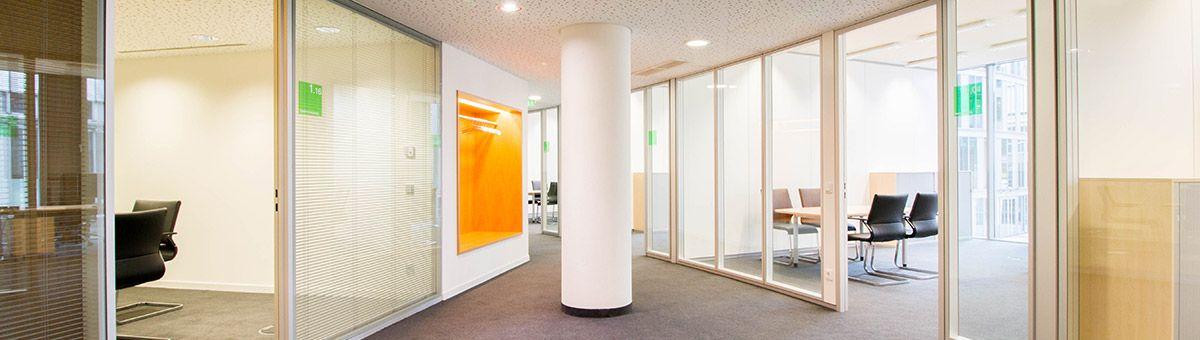 moderne burokonzepte grundriss, büro innenausbau - ab rohbau bis zum einzug | pinterest, Design ideen