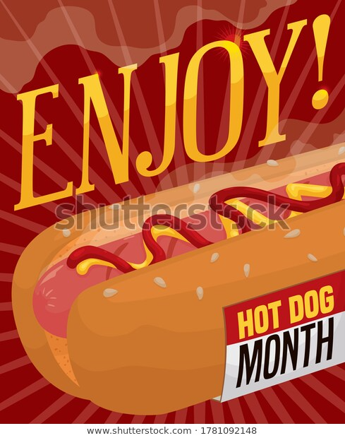 Delicious Classic Hot Dog Fresh Aroma Stock Hot Dogs Hot Dogs